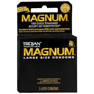 Trojan Stimulations Ultra Ribbed Lubricated Premium Latex Condoms