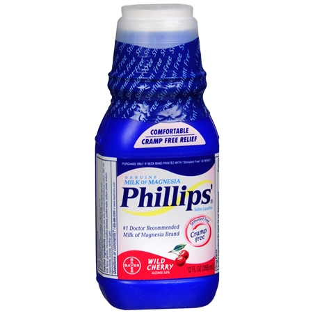 Phillips Milk Of Magnesia Cherry Express Rx