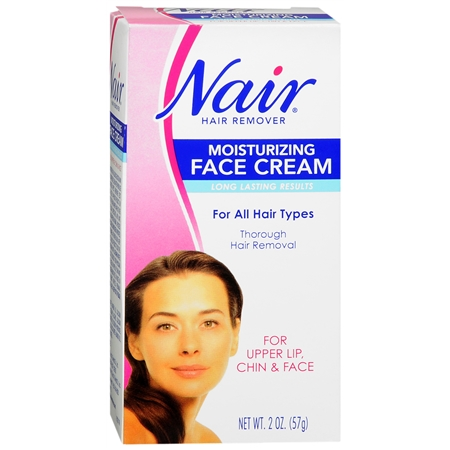 Nair Moisturizing Face Cream Hair Remover Express Rx