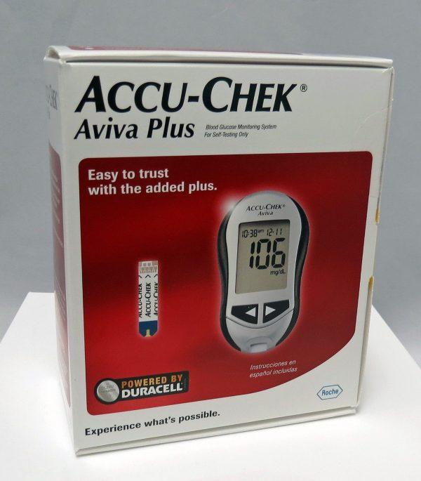 Accu Chek Aviva Plus Diabetes Meter Blood Glucose